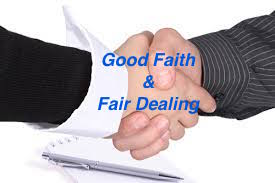 Implied Covenant of Good Faith